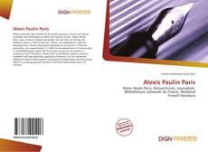 Couverture de Alexis Paulin Paris