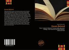 Eavan Boland kitap kapağı
