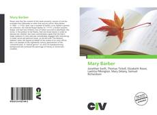 Bookcover of Mary Barber