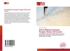 Buchcover von Anne-Robert-Jacques Turgot, Baron de Laune