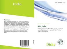 Bookcover of Mel Hein