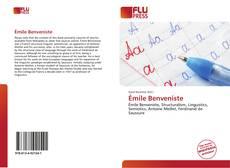 Buchcover von Émile Benveniste