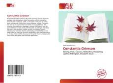Buchcover von Constantia Grierson