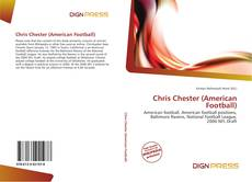 Bookcover of Chris Chester (American Football)