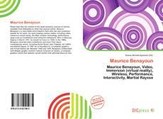 Maurice Benayoun kitap kapağı