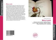 Обложка Mary Lamb
