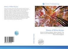 Portada del libro de History of Milton Keynes