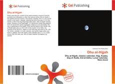 Bookcover of Dhu al-Hijjah
