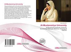 Bookcover of Al-Mustansiriya University