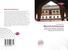 Couverture de Moorish Architecture