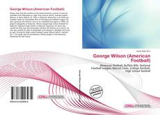 Bookcover of George Wilson (American Football)