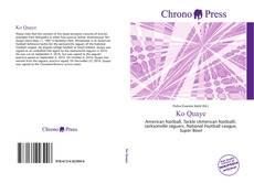 Bookcover of Ko Quaye