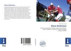 Portada del libro de Deon Anderson