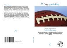 Micah Johnson kitap kapağı