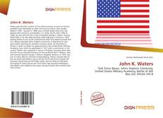 Couverture de John K. Waters