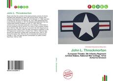 Bookcover of John L. Throckmorton