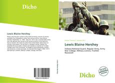 Bookcover of Lewis Blaine Hershey