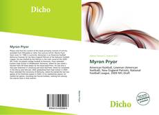 Bookcover of Myron Pryor