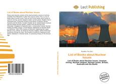 Bookcover of List of Books about Nuclear Issues
