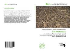 Bookcover of Jim Matthews