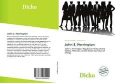 Bookcover of John S. Herrington