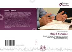 Bookcover of Booz & Company