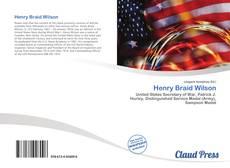Henry Braid Wilson kitap kapağı