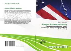 Bookcover of Joseph Strauss (Admiral)