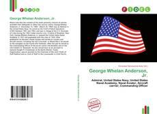 Обложка George Whelan Anderson, Jr.