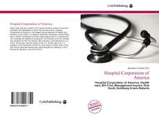 Bookcover of Hospital Corporation of America