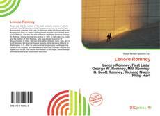 Buchcover von Lenore Romney