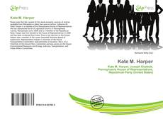Bookcover of Kate M. Harper