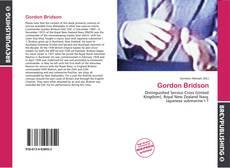 Обложка Gordon Bridson