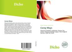 Bookcover of Corey Mays