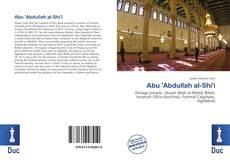 Capa do livro de Abu 'Abdullah al-Shi'i