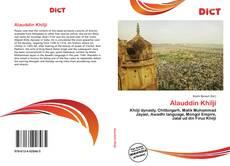 Alauddin Khilji kitap kapağı