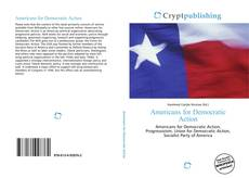 Capa do livro de Americans for Democratic Action