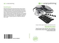 Bookcover of David Zucker