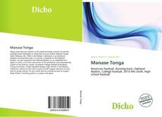 Bookcover of Manase Tonga