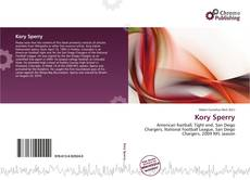 Bookcover of Kory Sperry