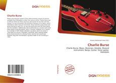 Bookcover of Charlie Burse