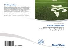 Couverture de D'Anthony Batiste