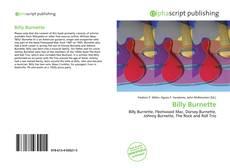 Billy Burnette kitap kapağı