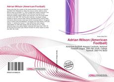 Bookcover of Adrian Wilson (American Football)