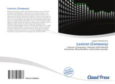 Bookcover of Lexicon (Company)