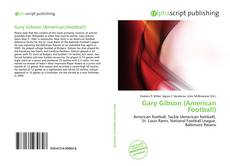 Bookcover of Gary Gibson (American Football)