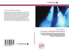 Portada del libro de Concerts at Knebworth House