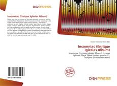 Insomniac (Enrique Iglesias Album)的封面