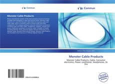 Buchcover von Monster Cable Products