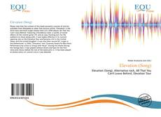 Bookcover of Elevation (Song)